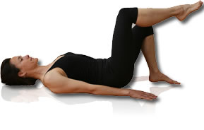 pilate knee fold